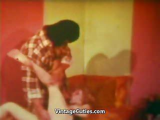 The brutal robber fucks cute cunt 1970s vintage...