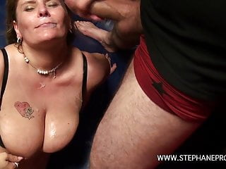 A like whore in chain the gets a fucked BBW Belgian