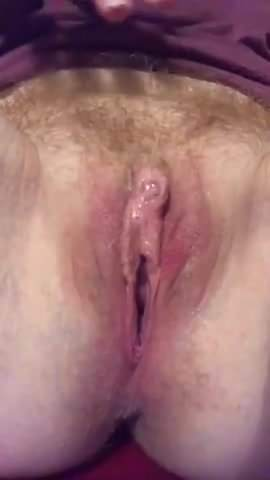 My wet pussy after cumming