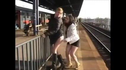 Junges russisches Teenie-Paar