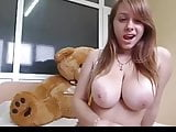 Busty Beauty gives a nice show