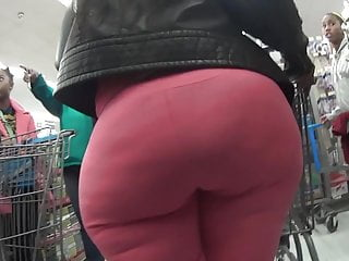 Spandex booty in leggings bbw