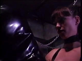 Hotties in leathers tease & fuck