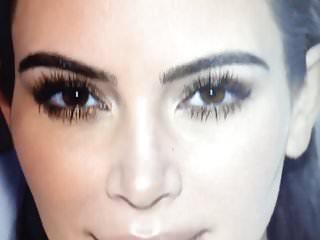 Kardashian kim cumtribute 3...