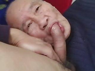 Man sucking dick amp getting fucked...