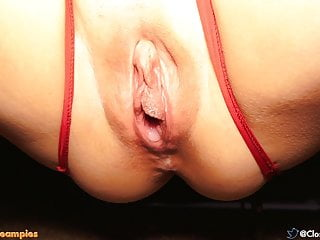 Big in lingerie...
