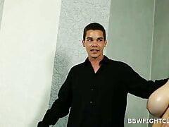 2 bbw  1 man