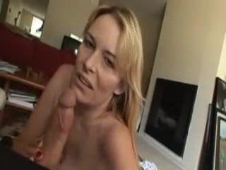 horny MILF blowjob scene