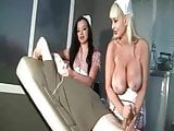 Two Nurses Giving a Treatment