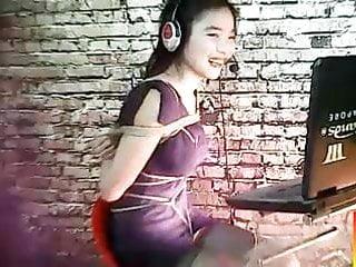 Chinese webcam bondage...