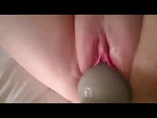 Fat BBW Ex GF masturbating her pink pussy