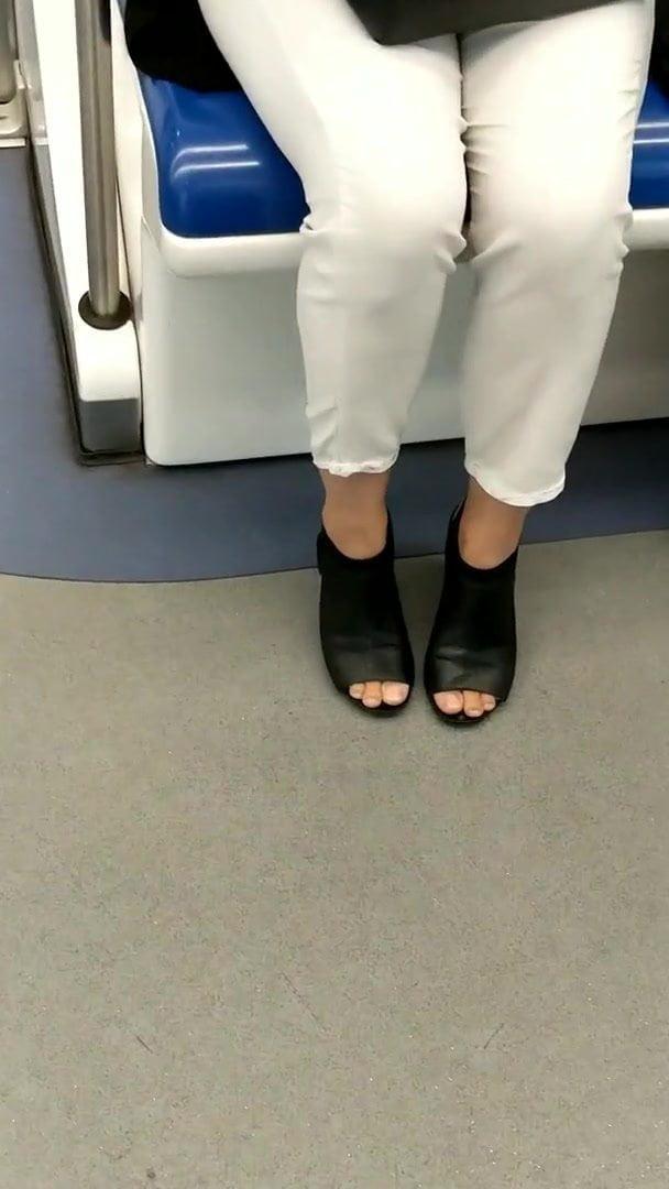 Tickling Feet High Heels