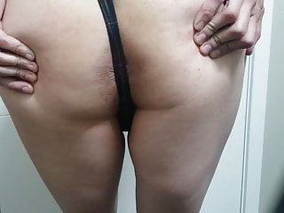 Sexy twink shows thong for you...