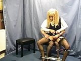 Candi milked by her teacher