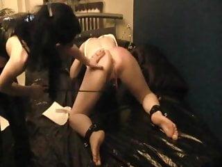 Bdsm Spanking Lesbian video: German Mistress - Spanking and Torture