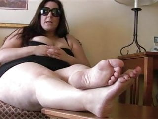 Foot mistress with slave...