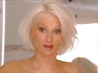 Sexy platinum blonde...
