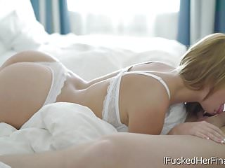 I Fucked Her Finally - Nataly is horny and anxious for sex