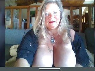 Granny big tits 60fps