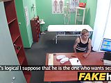 Fake Hospital Doctor brings feeling back to pussy with fuck