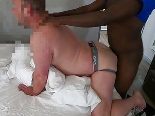 Load squirt big white jockstrap bottom takes young...