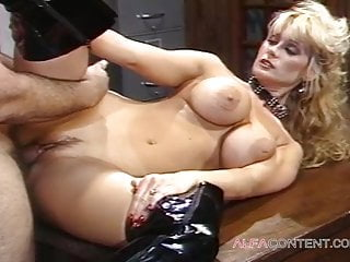 A very good busty blonde loves to get fucked in the ass