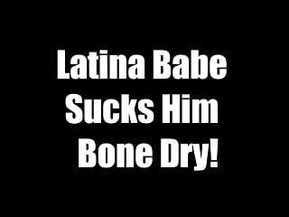 Latina babe dry...