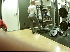 Blonde Pawg Gym
