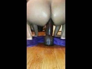 Big dildo ass hole...