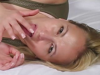 Gigi wants cum on her face!
