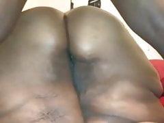 Black SSBBW Bootyrub Ass Worship Fingering Backshots Doggy