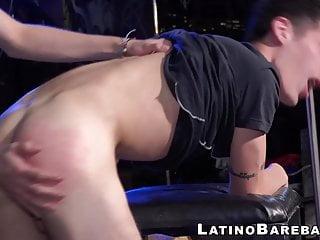 Bareback latino twinks with huge cocks...