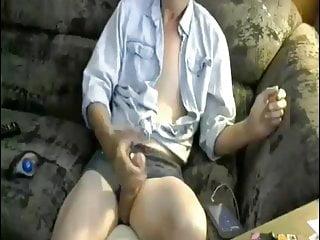 Rebecca, my sissy faggot  jerking off