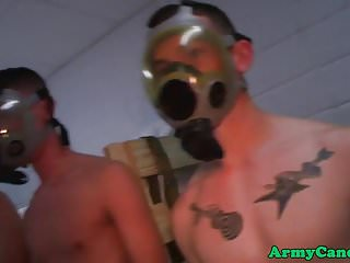 Hazed military bloke...
