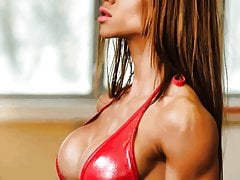 A Little Clip Of A Lucious Latina Fitness Model!