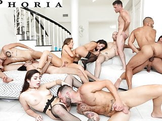 BiPhoria – Anything Goes At Couple's First Bisexual Orgy