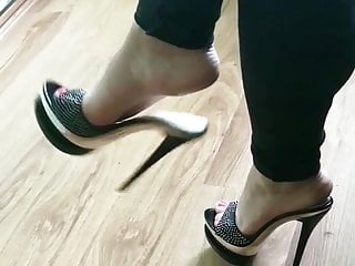 Hermosas Sexy Mules Mules Sexys- Dangling