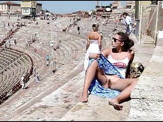 Flashing Fingering Public Nudity video: Decameron XXXVII - Naked and Barefoot Italian Whores
