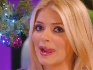 Holly Willoughby Licking Balls