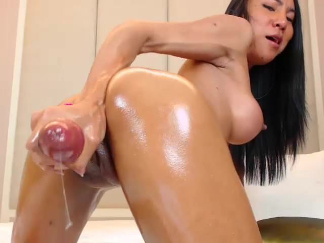 Solo Bouncing Dildo Riding Hd