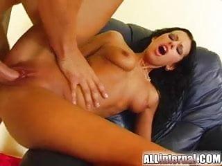 Black puma giant load shot into her...