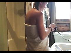 Teen Bathroom Shower Changing, Hidden Cam, Spy