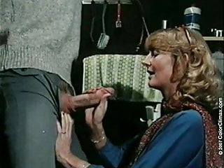 Vintage British Milf video: Hot office fuck with sexy milf sliding on fat big fucker