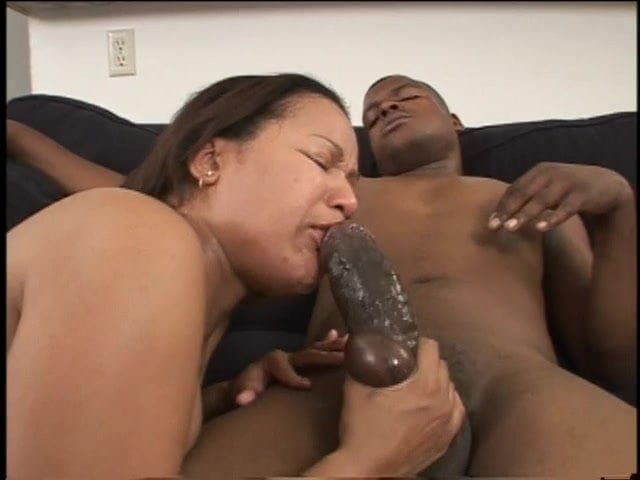 Ebony First White Creampie
