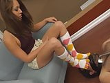 Sock Foot Worship