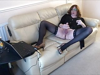 Alison – Caged and horny as she live streams