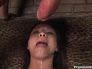 Asian Jayna Oso deep blowjob