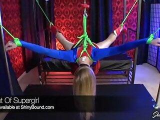 Supergirl Suspended Predicament Bondage
