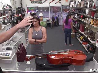 Tries to pawn a cello xxx pawn...
