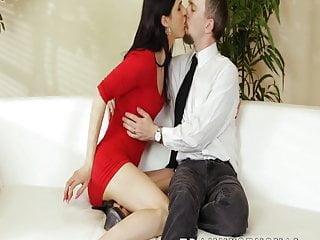 Older guy barebacks hard his lover...